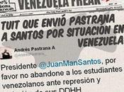 tuit Andrés Pastrana Juan Manuel Santos sobre Venezuela