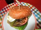 Hamburguesa vegetal queso cabra lechuga pochada