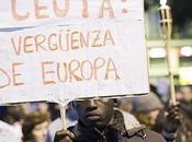 Guardia Civil disparó contra inmigrantes Ceuta