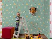 Papel pintado para habitación bebé, Coordonné