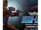 Geniales figuras Star-Lord, Mapache Cohete Groot Guardianes Galaxia