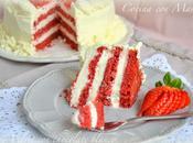 Tarta Velvet Chocolate blanco. ¡Feliz Valentín!