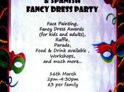 Cartel oficial Carnaval familias hispanas Glasgow