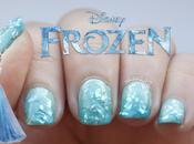NOTD: Uñas degradadas escarcha inspiradas película Frozen Disney