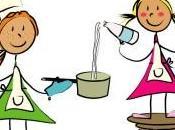 Cocinar niños: receta crepes frixuelos