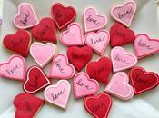 Mini corazones galleta