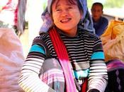 Retratos mercado Myanmar