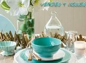 Vivir color: verdes azules