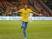 Neymar Brasil aplastan Sudáfrica