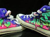 Zapatos customizados antojos zapateros click. grafiteo zapatos?