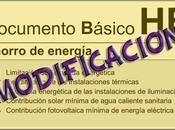 """Entrada vigor Documento Básico DB-HE """"Ahorro Energía"""", CTE."""