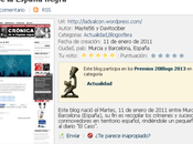 Concurso Premios 20blogs 2013