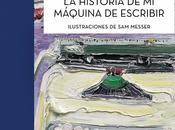 "historia máquina escribir"", Paul Auster."