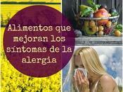 Alergia estacional: alimentos mejoran síntomas