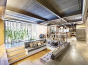 estudio Egue Seta crea Terrassa loft alrededor luminoso jardín.