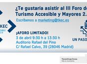 Foro ThyssenKrupp Encasa. Turismo Accesible Mayores 2.0. paso adelante