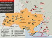 MAPAS: Bases militares ucranianas fuerzas rusas situadas cerca fronteras Ucrania