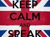Keep calm speak English