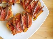 Tostadas tomate anchoas