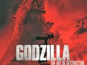 "Imagen godzilla desde portada libro ""godzilla:the destruction"""