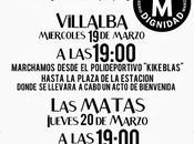 Llegan Marchas Dignidad Sierra Madrid #22M