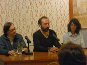 Presentación `Vigilia asesino´, pasado jueves marzo museo Ramón Gaya