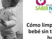 Cómo limpiar bebé toallitas húmedas