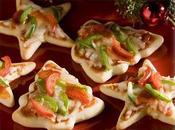 Mini-Pizzas Navideñas