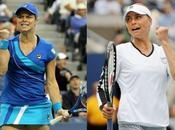 Open: Zvonareva sorprendió Wozniacki definirá Clijsters