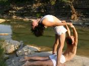 Bailando yoga Navarra