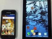 Samsung Galaxy Tab, probando video llamadas.