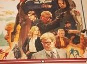Póster retro Paolo Rivera para Capitán América: Soldado Invierno
