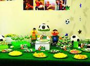 Fiesta futbolera para segundo cumpleaños Pachús