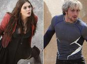 Primer Vistazo Quicksilver Scarlett Witch Avengers: Ultron
