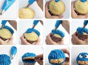 Cupcake Monstruo galletas