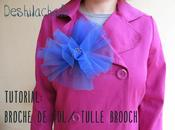Tutorial: broche tulle brooch