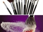 Cómo limpiar brochas maquillaje