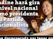 """""""borrachita poder"""" puede vicio: *Nadine Heredia hará gira nacional como presidenta Partido Nacionalista*"""