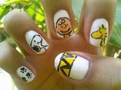 Semanas Nail Arts- Cómic/ Charlie Brown