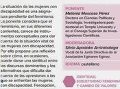 Conferencia 'Menos mujeres: discursos normativos cuerpo través feminismo discapacidad'