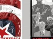 Pósters alternativos Paolo Rivera para Capitán América: Soldado Invierno