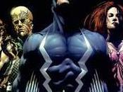 "Inhumanos. raza ""mutante"" separada Marvel"