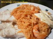 Fideos parte (receta marenga paleña)