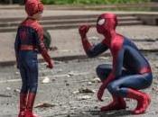 Spiderman Spiderbaby promocionan Evian Water Amazing Spider-Man Poder Electro