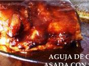 Aguja cerdo asada salsa Coca cola