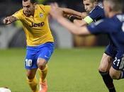 Juventus gana Lyon sobre hora (VIDEO)