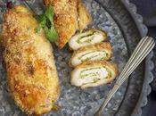 Pollo crujiente pesto, queso almendra