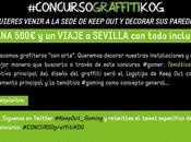 KEEP GAMING busca graffiteros gamers