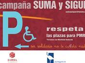 campaña conciencia conductores Rozas para respeten aparcamientos discapacitados
