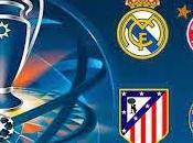 jugarán semifinales Champions League